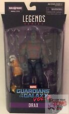 "DRAX Guardians Of The Galaxy TITUS WAVE 1 Marvel Legends 2017 6"" Inch FIGURE"