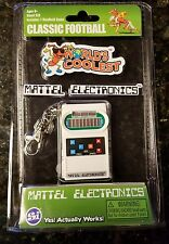 World's Coolest Miniature Mattel Electronic Handheld Football Keychain Clip