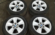 """BMW F10 F11 17"""" WINTER ALLOY WHEELS TYRES 327 225/55/17 CONTINENTAL 6790172"""