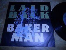 "LAID BACK ""BAKERMAN / I WALK PROUD"" GEMA / BIEM GERMAN PRESSED 1989 ARIOLA RARE*"