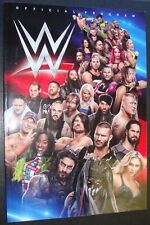 WWE WRESTLING OFFICIAL PROGRAM 2017 with POSTER