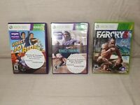 Xbox 360 Games (Lot Of 3) Untested