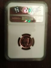 2012 CANADA NGC MS66 RD COPPER Plate ZINC 1c LAST YEAR Free Shipping in the USA
