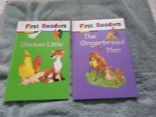Children's books:  Lot of 2  - First Readers - Hardcover - Very Good Cond