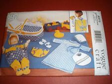 VOGUE 9373 Pattern Backpack Baby Doll Accessories  Uncut Linda Carr