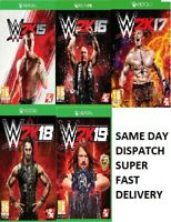 WWE 2K Xbox One Assorted Games MINT Same Day Dispatch via Super Fast Delivery