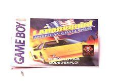 Lamborghini: American Challenge (très bien) jeu d'Instructions Gameboy Instructions Spi