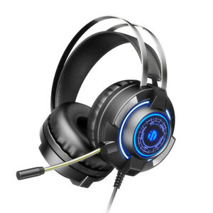 Inphi 3.5mm Gaming Headset Headphones With MIC For PC Switch Laptop PS4 Xbox One
