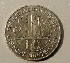 MONACO 10 EURO  SOCIETE BAIN DE MERS FDC /UNC