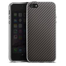 Apple iPhone 5s Silikon Hülle Case - Carbon