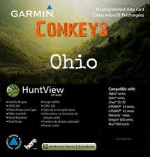 Garmin Ohio HuntView State Birdseye Map with 24K TOPO Hunt View