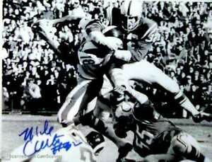 MIKE CURTIS SIGNED BALTIMORE COLTS 8X10 PHOTO #3 HEAD HUNTING SHOT! RIP!