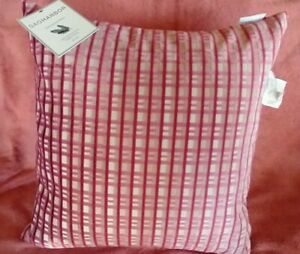 SAG HARBOR~ Decorative Pillow~100% Duck Feather Filled~ 20 X 20~ NWT