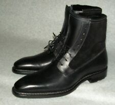MEZLAN 'Luzern' Genuine Shearling leather Men's Boot Size 8   MSRP  $525  Black