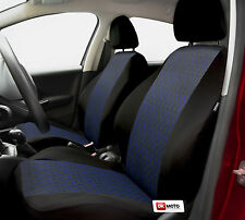 Seat covers full set for VW Passat - black/blue