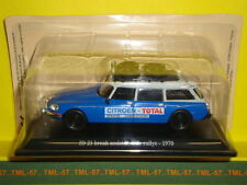 Voiture 1/43e Atlas CITROEN DS - ID 21 Break Assistance de Rallye - 1970