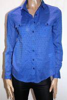 Mix Brand Blue Long Sleeve Collared Pocket Shirt Top Size 8 BNWT #TM37