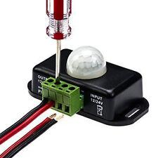 DC12V-24V PIR Senser IR Switch Module Body Motion Sensor Auto On off Lights Lamp