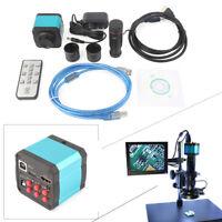 14MP 1080P Microscope USB C-mount Digital Industry Video  Camera Zoom Lens