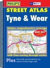 Tyne and Wear (Philip's Street Atlases), Very Good Books