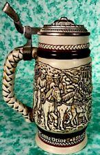 Avon Beer Stein #18077 Handcrafted in Brazil 1980 Ceramarte Exclusive for Avon