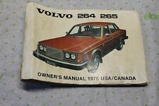 1982 DL GL GLT VOLVO 240 ORIGINAL FACTORY OWNERS MANUAL OPERATORS BOOK
