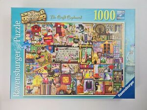 Ravensburger No. 2 Curious Cupboards The Craft Cupboard 1000 Puzzle - Complete
