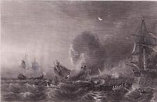 Bataille Cap de la Roque Cabo da Roca Guerre de Succession d'Espagne Coëtlogon