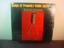 HANK SNOW 1964 RCA VICTOR MONO COUNTRY LP VG++ ~ Songs Of Tragedy