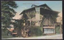 Postcard Berkeley California/Ca Hearst Hall House view 1907