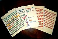 CatalinaStamps: US Stamps & BOB in Stock Pages, Multiples, 365 Stamps, E25