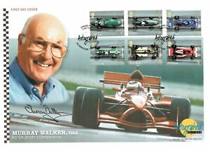 Murray WALKER Signed Autographed Editions FDC First Day Cover COA AFTAL F1