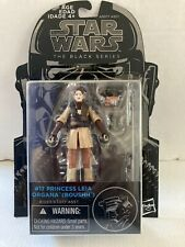 "New Star Wars The Black Series 3.75"" #17 Princess Leia (Boushh)"