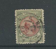Nederland  48 Wilhelmina  VFU/gebr  CV 575 €  klein scheurtje