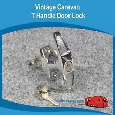 Caravan T HANDLE LOCK  Vintage Camper Van Viscount Millard Franklin D0119