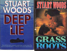 Complete Set Series - Lot of 7 Will Lee Books by Stuart Woods (Suspense Fiction)