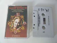 TAMMY WYNETTE CHRISTMAS WITH TAMMY WYNETTE CASSETTE TAPE EPIC CBS UK 1987