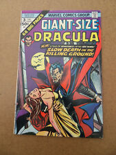 Giant - Size Dracula 3 . Marvel 1974 . FN / VF