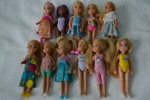 Barbie Chelsea Dolls Lot