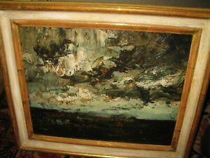 MÜLLER-WISCHIN Anton, *1865 Gewitter im Moor bei  Prien