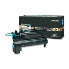 Lexmark Genuine X792x1cg High Yield Cyan Toner for X792 - 20 000 Pages