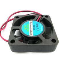 2 pin 12V 40mm 4010 Fan CPU GPU 3D Printer RepRap Extruder Heatsink Cooler Small