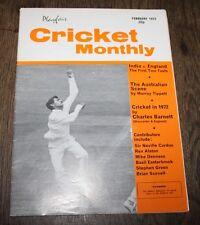 Playfair Cricket International - February 1973 - India v England