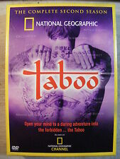 Taboo: The Complete Second Season (DVD, 2005, 2-Disc Set)