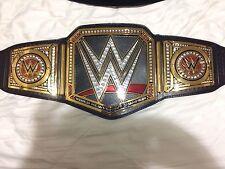 WWE WORLD HEAVYWEIGHT CHAMPIONSHIP COMMEMORATIVE TITLE BELT. NEW.