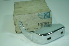 NOS GM OEM 1977 78 79 Chevy Caprice Rear Bumper Guard  371980