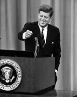 President John F. Kennedy Press Conference 8x10 Photo #D317