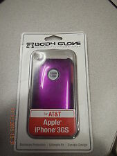 NIB Metalic Purple case for AT&T iPhone 3GS Body Glove