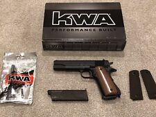 New listing KWA Full Metal Classic M1911A1 Government Model NS2 GBB Airsoft Pistol 101-00481
