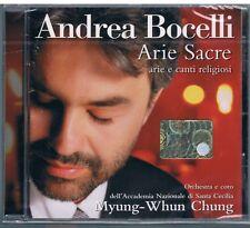 ANDREA BOCELLI ARIE SACRE ARIE E CANTI RELIGIOSI CD F.C. SIGILLATO!!!